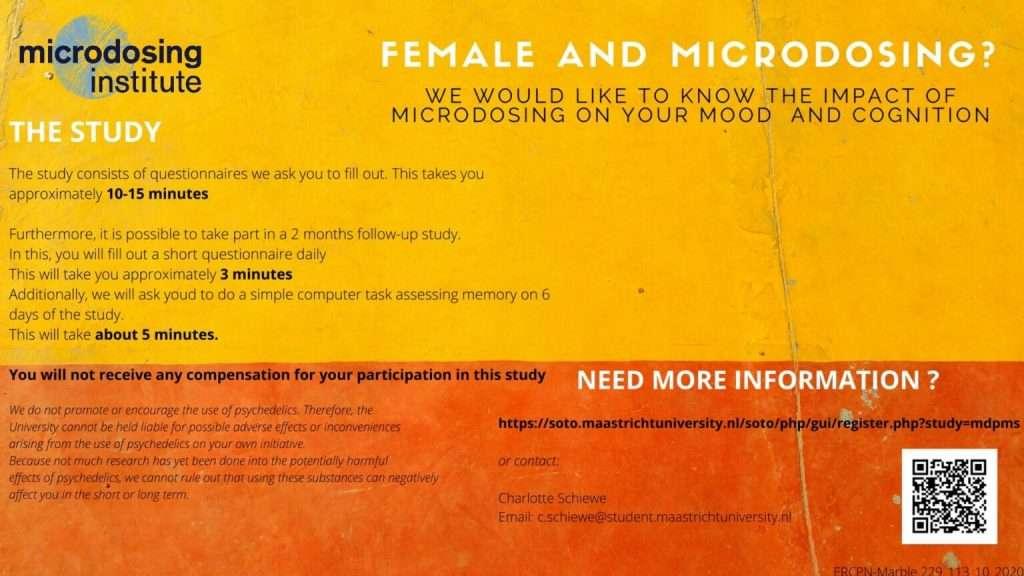 microdosing pms study